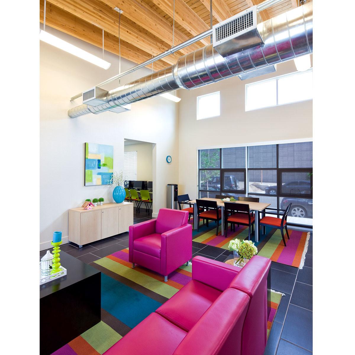 Plaza Ciudana Interior Design HARTMAN + MAJEWSKI DESIGN GROUP
